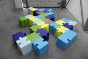 pouf puzzle