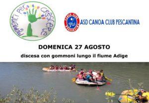 discesa gommoni Adige