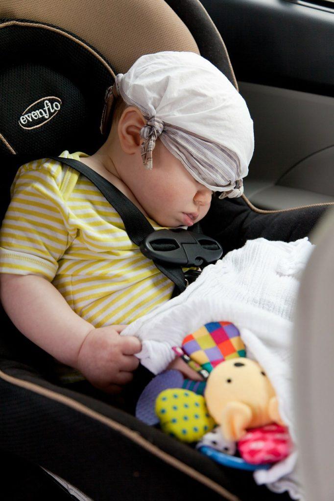 Dispositivi di sicurezza per seggiolini auto