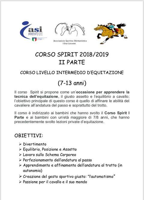 corso spirit 1