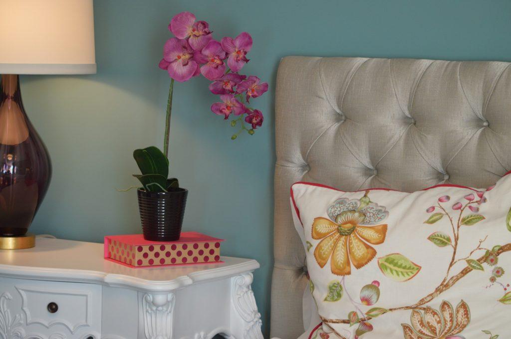 casa rinnovare camera orchidea