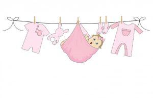 vestire neonato femmina rosa