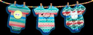 vestire neonato body colore