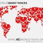 16 Aprile: Giornata Mondiale della Voce